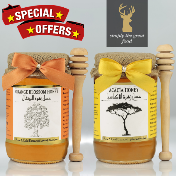 Orange Blossom Honey & Acacia Honey