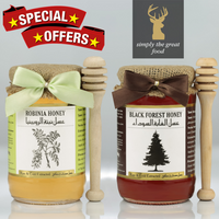Robinia Honey & Black Forest Honey