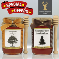 Sidr Honey & Black Forest Honey
