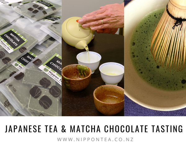 Japan Day - Come and try our teas and Matcha chocolate