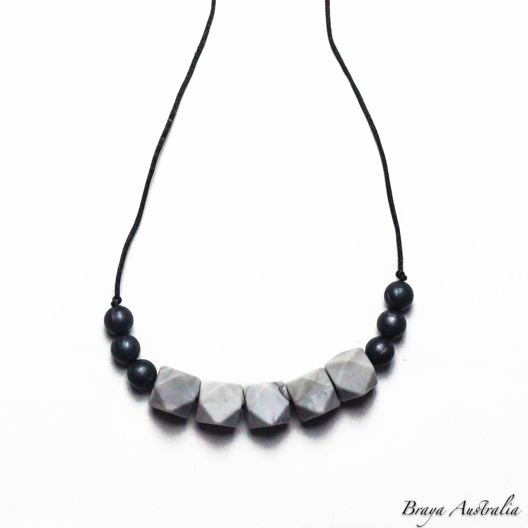 Madison - Silicone Necklace By Braya Australia