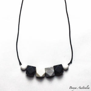 Row of Hex - Silicone Necklace By Braya Australia