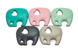 Elephant Teether - Silicone Necklace By Braya Australia