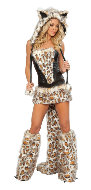 80079 Frisky Costume, skirt and corset