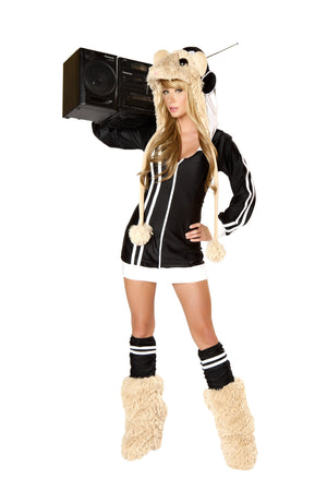 CS125 DJ Spinwheel Costume Hooded Jacket