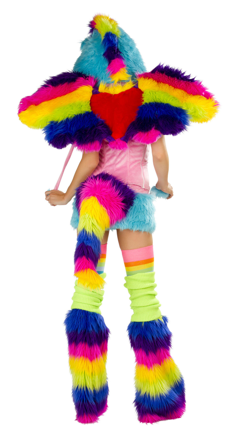 CS160 Rainbow Pony Costume