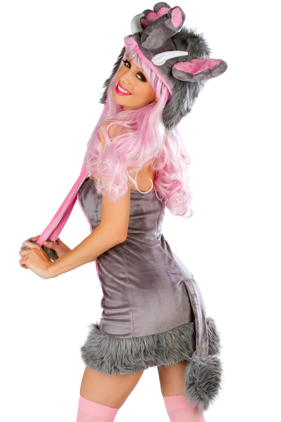 CS195 Pink Elephant Costume