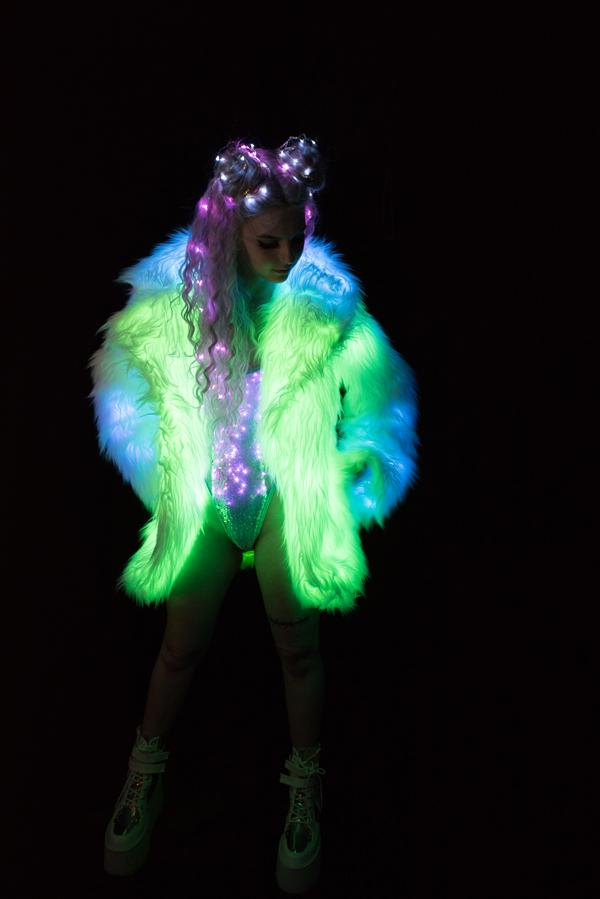 FF365 - Ombre Light-Up Coat