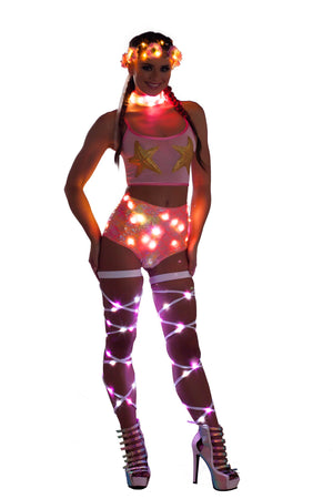 FF803 Light-Up Mermaid High-Waist Short