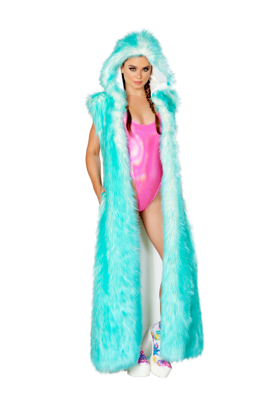 FF950 Light-Up Hooded Duster
