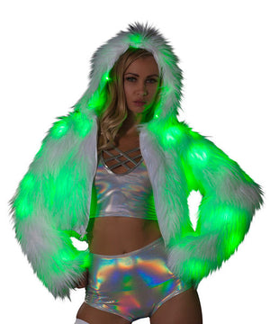 CL524 Light-Up Cropped Jacket ( This item is currently on back order)