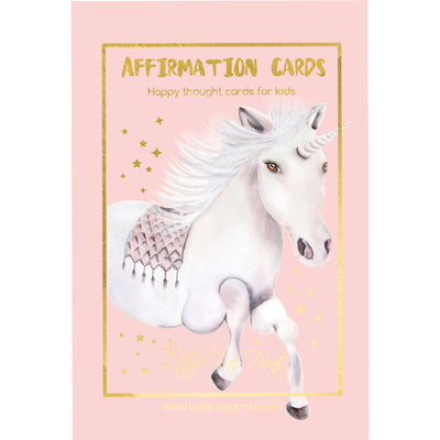 Affirmation Cards - Happy thought cards for kids - Little Rae Prints