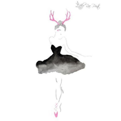 Antler Ballerina A3 - Little Rae Prints