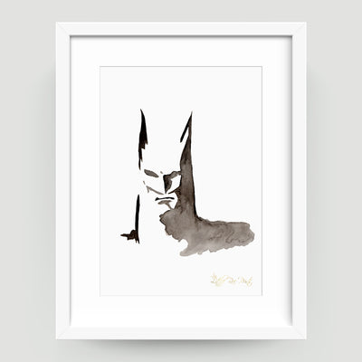 Bat Face - Little Rae Prints