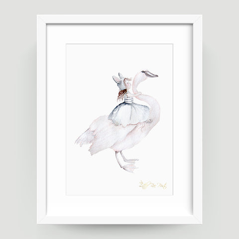 Belle Swan - Little Rae Prints