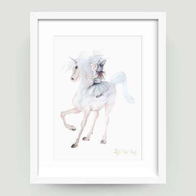 Belle Unicorn - Little Rae Prints