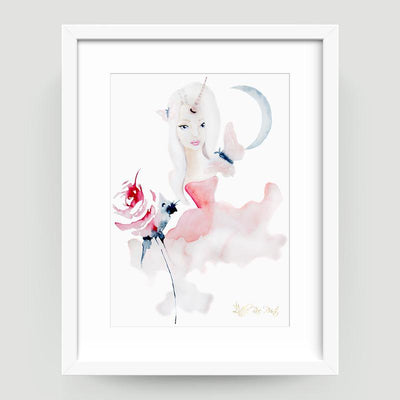 Unicorn Rose - Little Rae Prints