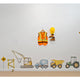 CONSTRUCTION WALL DECALS