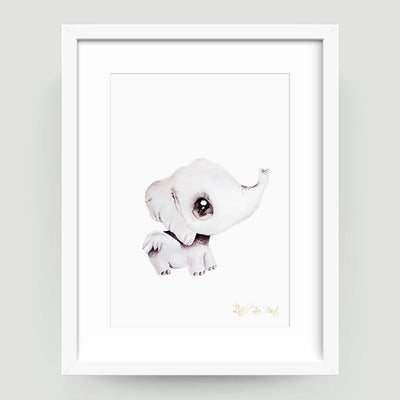 Effie the Elephant - Little Rae Prints