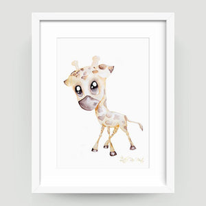 George the Giraffe - Little Rae Prints