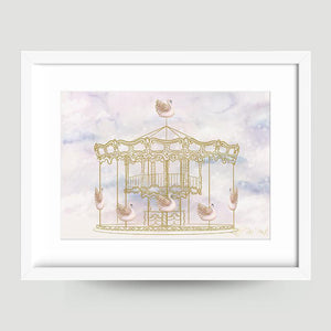 Carousel Magic - Little Rae Prints
