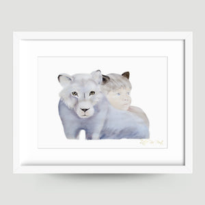 Little Mountain Lion - Little Rae Prints