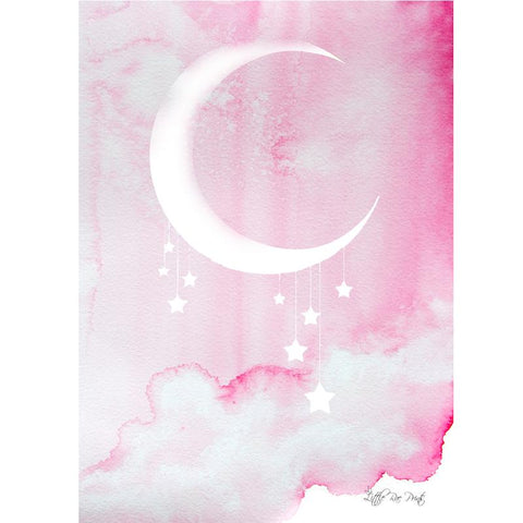 Midnight Pink A3 - Little Rae Prints
