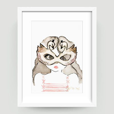 Sophia the Swan Princess - Little Rae Prints