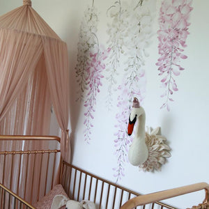Wisteria Wall Decals - Perfectly Pink Set - Little Rae Prints
