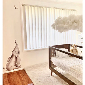 Elephant 100cm Wall Decal