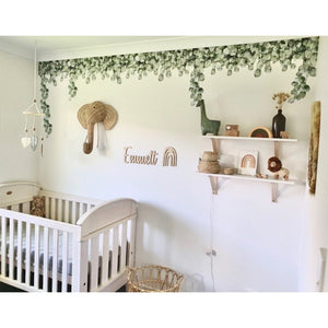 Green Leaf Jungle Wall Decals