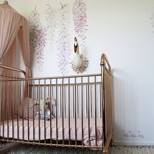 Flamingo Trio Removable Wall Decal Set - Little Rae Prints
