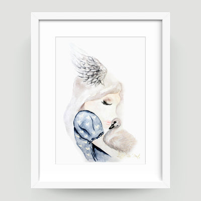 Swan Snuggles - Little Rae Prints