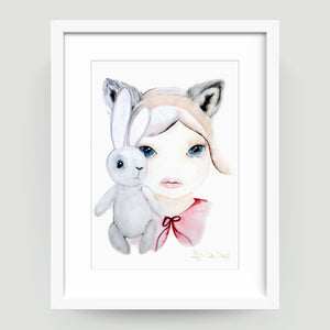 Winter Wolf - Little Rae Prints