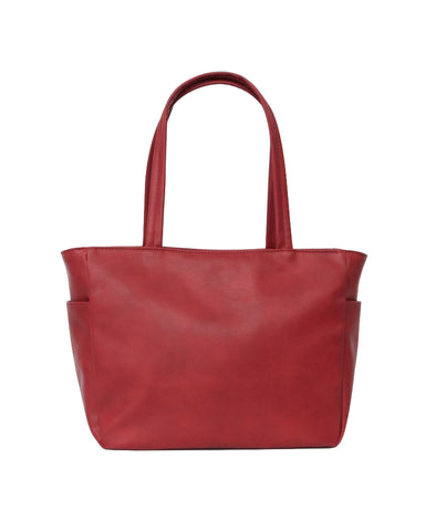 Legato Largo 10-pocket Tote Bag Red