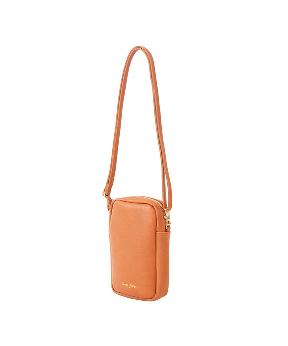 Legato Largo Lusso Grain Leather Smartphone Shoulder Bag
