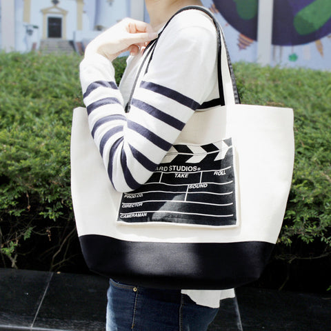 Ultrahard Tote Bag - Clapper Board - Anello Japanese Backpack