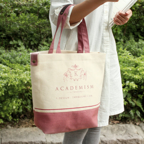 Ultrahard Tote Bag - Academism Pink - Anello Japanese Backpack
