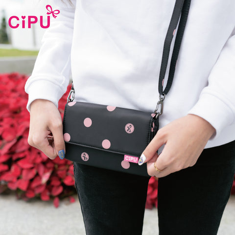 CiPU Walking Pouch ECO Pink Bubble