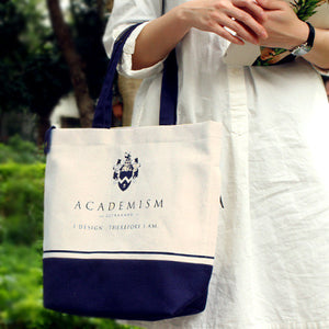 Ultrahard Tote Bag - Academism Blue - Anello Japanese Backpack