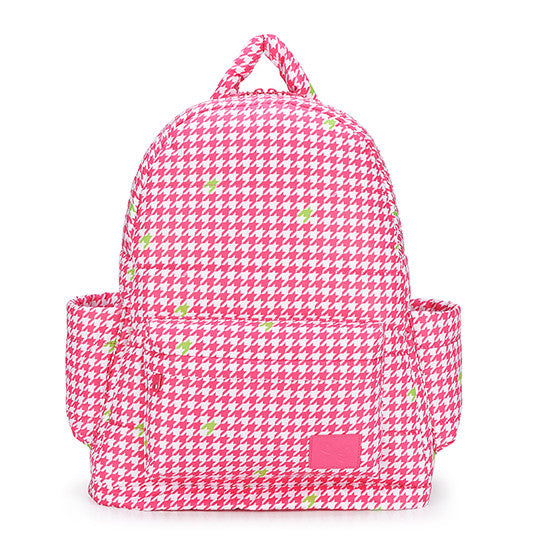 CiPU B-Bag ECO Pink Houndstooth [basic set] - Anello Japanese Backpack