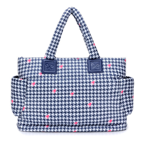 CiPU CT-Bag ECO Blue Houndstooth [basic set] - Anello Japanese Backpack