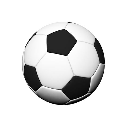 PopSockets Grip [Soccer Ball] - 100% Authentic / Authorized Distributor (101046)