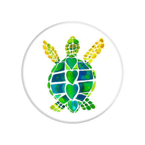 PopSockets Grip [Turtle Love] - 100% Authentic / Authorized Distributor (101380)