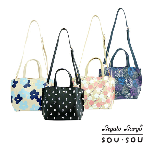 Legato Largo x SOU • SOU Shoulder Tote Bag