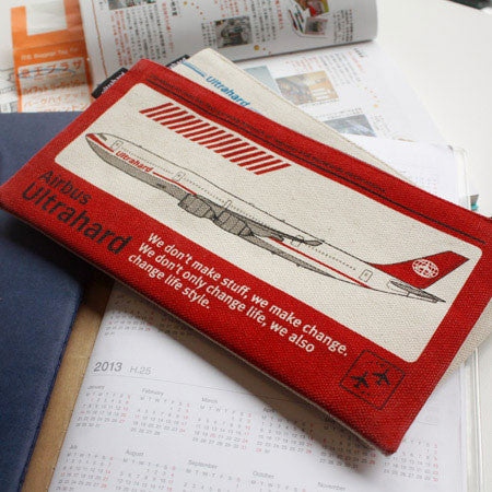 Ultrahard Pen Case - Bon Voyage Flight (Red)