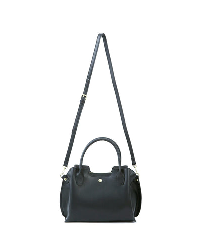 Legato Largo Leather 2-Way Boston Bag