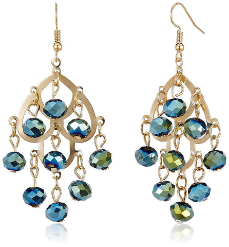 Covo Blue Statement Earring for Women