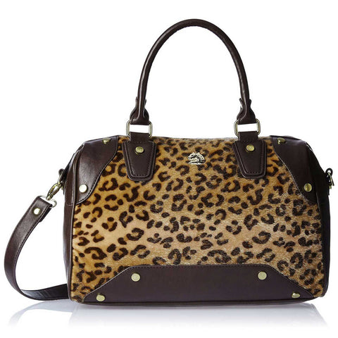 Covo Twilight Leopard Women's Shoulder Bag (Chocolate)
