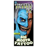 Tinsley Transfers -  Big Mouth Tattoo 2 Faced